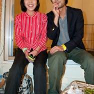 Edamame snack couple, Fukuoka, Japan | © Marijn Engels, September 2012
