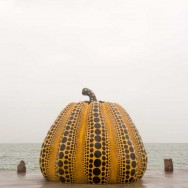 Pumpkin, Naoshima, Japan | © Marijn Engels, October 2012
