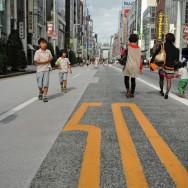 Closed street, Ginza, Tokyo, Japan | © Marijn Engels, October 2012